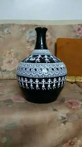 Pottery Vase Painting Ideas Pin By Divya Dubey On Pottery Pinterest Craft Dot Painting