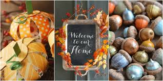 fall autumn decorations