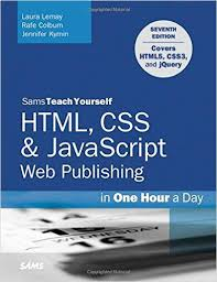 css tutorial pdf for dummies sams teach yourself html css javascript web publishing in one