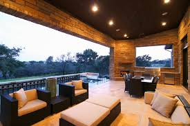outdoor living hill country modern by zbranek holt custom homes