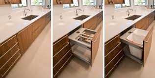 Garbage Cabinet Pull Out Bar Cabinet - Kitchen cabinet garbage drawer