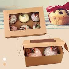boite emballage cadeau en carton aliexpress com acheter 1 pcs mini kraft papier 2 gâteau boîtes de
