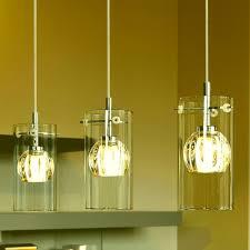 hanging triple pendant light kit lighting bazz nexa watt chrome integrated led pendant fixture