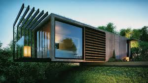 Architect Home Design Bradley Designs Cantilevered Shipping Container Office