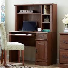 Computer Hutch Desks With Doors Hutch Desks You Ll Wayfair