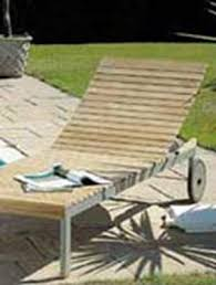 Long Island Sun Lounger Natural Teak Nova Garden Furniture - Outdoor furniture long island