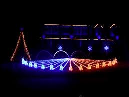 synchronized christmas light show christmas lights decoration