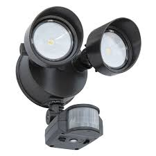Led Security Lights Outdoor Lithonia Olf 2rh 40k 120 Mo Bz M6 19w Led Security Light