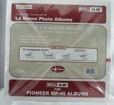 pioneer photo album refills clear plastic photo slip in albums ebay