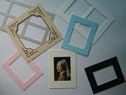 Acid Free Photo Album Photo Mounts Passepartout Acid Free Uncut And Precut Custom Size