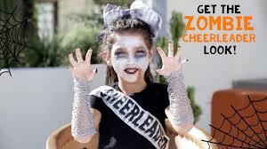 Zombie Cheerleader Halloween Zombie Cheerleader Look With Txunamy Claire U0027s Youtube