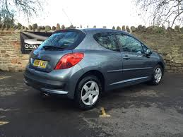 peugeot grey peugeot 207 1 4 vti sport 3dr petrol hatchback quality assured cars