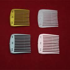 wholesale 6 holes small size plain comb magic hair comb ornament