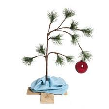peanuts a brown christmas product works peanuts 24 tabletop brown christmas tree