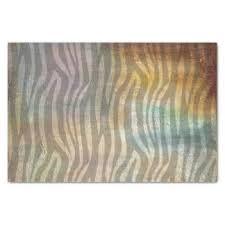 zebra tissue paper earth tone craft tissue paper zazzle