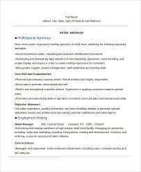 Branding Statement Resume Examples by Manager Resume Examples 24 Free Word Pdf Documents Download