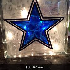 dallas cowboys christmas lights best dallas cowboys stain glass block light great for christmas