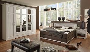 Komplettes Schlafzimmer Auf Ratenzahlung Schlafzimmer 4 Teilig Modell Scala Mit Boxspringbett Massive