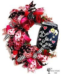 wreaths for door valentines day wreaths door