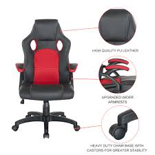 guyou ergonomic computer racing car style gaming pc desk office