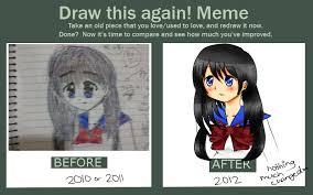 Vodka Meme - draw this again meme by fluffy maple vodka on deviantart