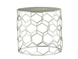 silver side table uk side table silver side tables accent table elegant round modern