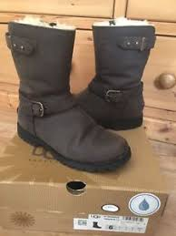 womens ugg grandle boots ugg biker style grandle java boots shoes size 4 5uk 37 eu