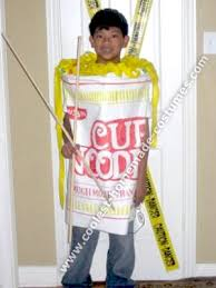 Cheese Halloween Costume Coolest Homemade Cup Noodles Halloween Costume Halloween Night