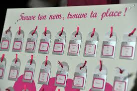 noms de table mariage décoration de tables atelier graines d u0027idées