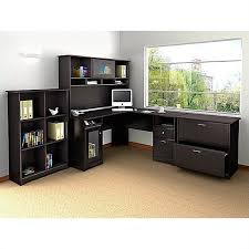 multi tiered computer desk l shaped home office cute l shaped computer desk with hutch inside
