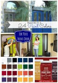 Exterior Door Colors Front Door Paint Colors And How To Paint An Exterior Door