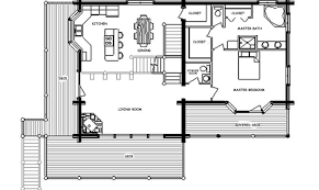 25 fresh floor plans for log cabin homes house plans 21098