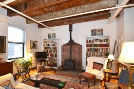 porter square live work loft with 15 foot ceilings two levels