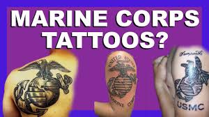 usmc tattoo regulations my thoughts youtube