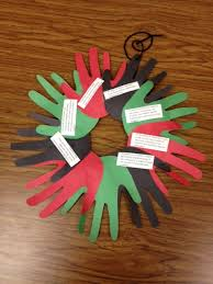 kwanzaa decorations students can give this wreath as a gift decoration for kwanzaa