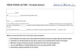 template for email cover letter email cover letter template