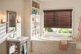 faux wood blinds a variety of wood grain finishes and colors