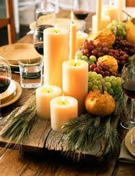 gorgeous and aweome thanksgiving table decorating design