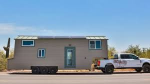 beautiful bunkhouse a new 310 sq ft model from uncharted tiny