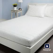 nautica luxury knit waterproof mattress pad