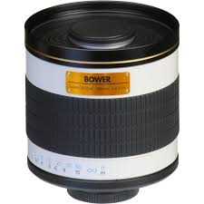 bower 500mm f 6 3 manual focus telephoto t mount lens sly50063
