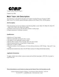 Executive Recruiters Job Description Tutor Responsibilities Executive Recruiters Job Description