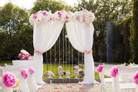 wedding ceremony arch wedding ceremony arch and flowers pink a particular event