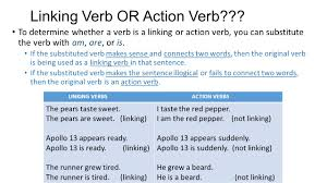 Action Linking Verbs Worksheet Verbs What Do You Know Verbs The Verb Is Perhaps The Most