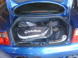 midnight blue maserati golf bag fit in gs trunk maserati forum
