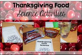 thanksgiving science activities with cranberries teaching to