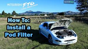 installing a pod filter mitsubishi fto gpx visual owners