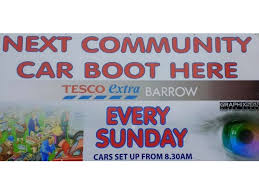 tesco womens boots uk tesco barrow community car boot