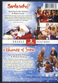 santa who a chance of snow christmas double feature limit 1