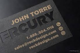 luxury business cards free business card templates rockdesign